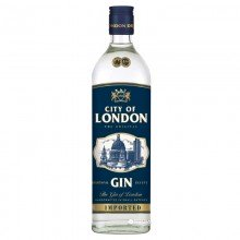 Ginebra City of London London Dry 40% 70cl. City of London. [Caja de 12 unidades]