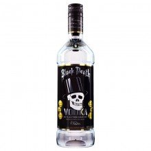Vodka Black Death 37,5% 70cl. Black Death. [Caja de 12 unidades]