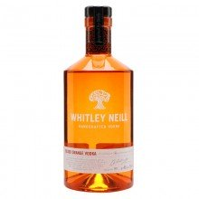 Vodka Whitley Neill Blood Orange 43% 70cl. Whitley Neill. [Caja de 6 unidades]