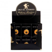 Expositor Whisky Old Sant Andrews Clubhouse Blended Scotch 'incluye estuche' 40% 5cl. Old Sant Andrews. [Caja de 36 unidades]