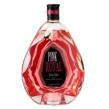 Ginebra Pink Royal Dry Gin 40% 70cl. Pink 47. [Caja de 6 unidades]