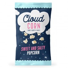 Sweet and Salted Popcorn 'share bag' 80gr. Cloud Corn. [Caja de 10 unidades]