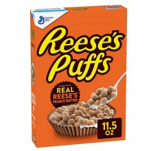 Cereales Reese's Puffs 326gr. Reese's. [Caja de 12 unidades]