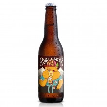 Big Bear 'Pale Ale' 330ml. Barcelona Beer Company. [Caja de 24 unidades]