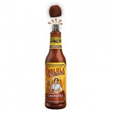 Salsa Picante Cholula Chipotle 150ml. Cholula Hot Sauce. [Caja de 12 unidades]