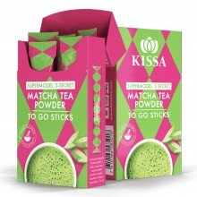 Té Matcha Supermodels Secret to Go Sticks (5x2gr) 10gr. Kissa Tea. [Caja de 5 unidades]
