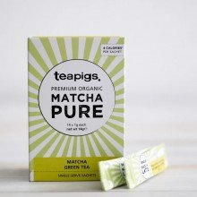 Japanese Matcha 'on the go' 14x1gr. Teapigs. [Caja de 6 unidades]