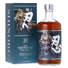 The Shinobu Pure Malt 10 Years Japanese Whisky (con estuche) 70cl. Shinobu Japanase Whisky. [Caja de 6 unidades]