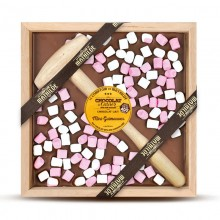 Mini Marshmallows 'Chocolate con Martillo' 400gr. Le Comptoir de Mathilde. [Caja de 4 unidades]