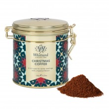 Christmas Coffee Clip Top Tin 120gr. Whittard. [Caja de 12 unidades]