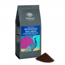 Café Molido (Dark Roast) 'Monsoon Malabar, India' 200gr. Whittard. [Caja de 12 unidades]