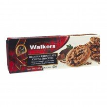 Biscuits con Chips de Chocolate Belga 150gr. Walkers. [Caja de 12 unidades]