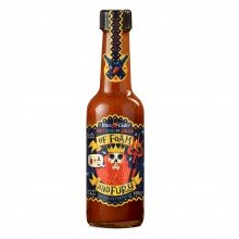Salsa Picante Of Foam and Fury (Escala Scoville: 25.000) 155gr. Mic's Chilli. [Caja de 12 unidades]