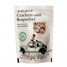 Crackers con Queso Roquefort 45gr. The Fine Cheesse Co. [Caja de 20 unidades]