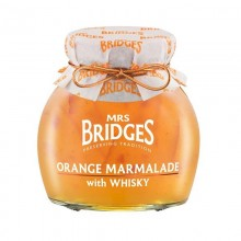 Orange Marmalade & Whisky 340gr. Mrs. Bridges. [Caja de 6 unidades]