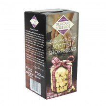 Chocolate Chip Scottish Shortbread 200gr. Duncans of Deeside. [Caja de 12 unidades]